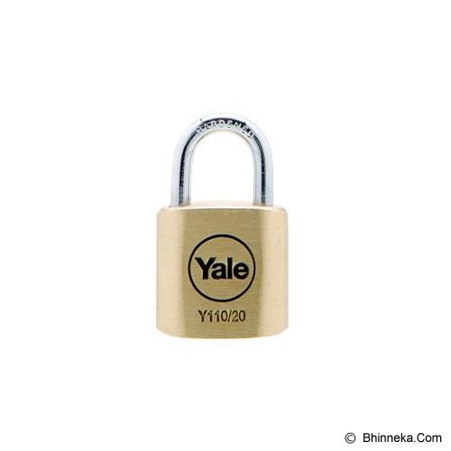 YALE Brass Padlock [Y110/20/111/1] - Kunci Gembok